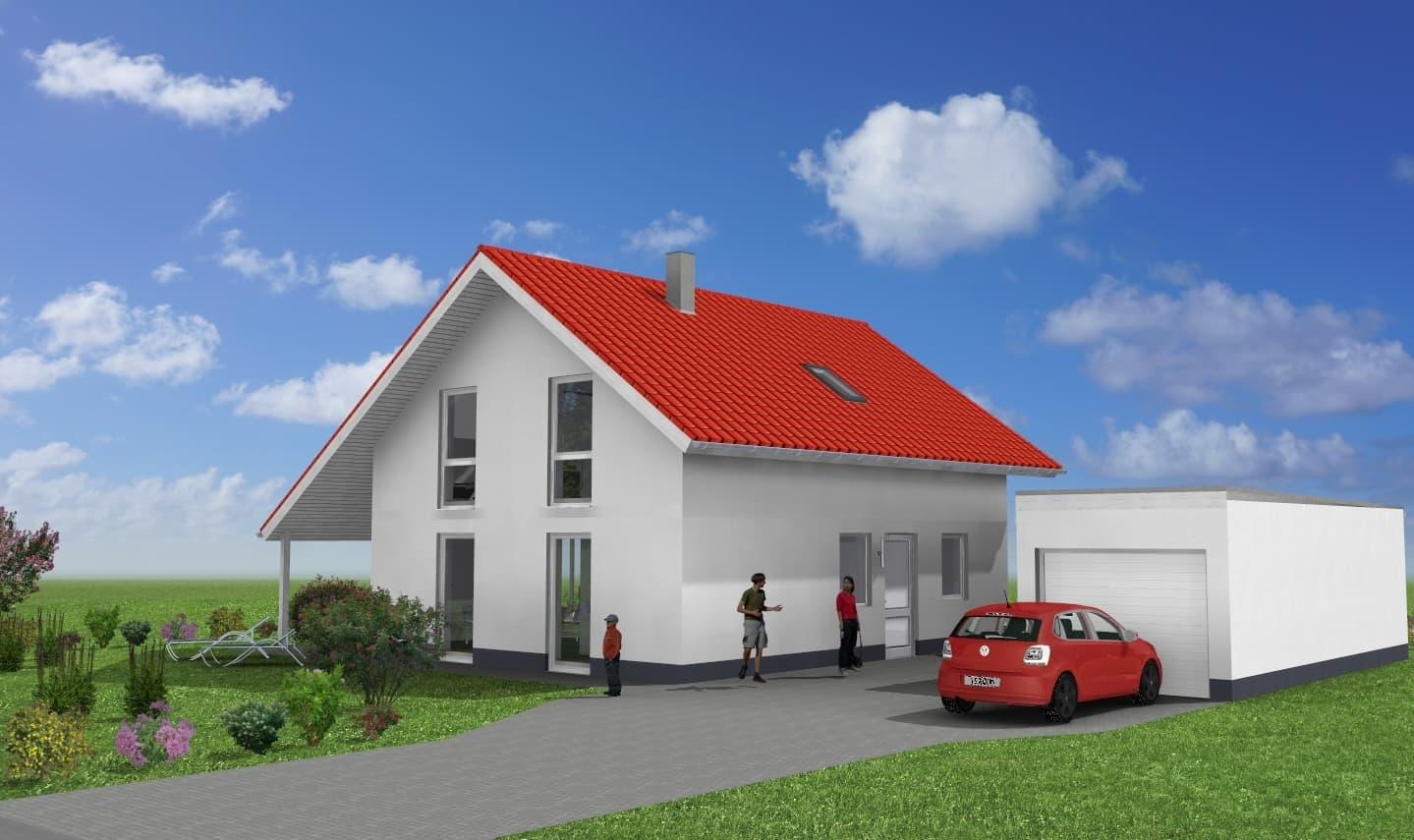 Einfamilienhaus mit Garage in 36433 Moorgrund OT Etterwinden