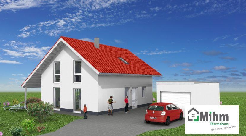 Classico135SD_Bauantrag-Ansichten_3D-Eingang_Logo