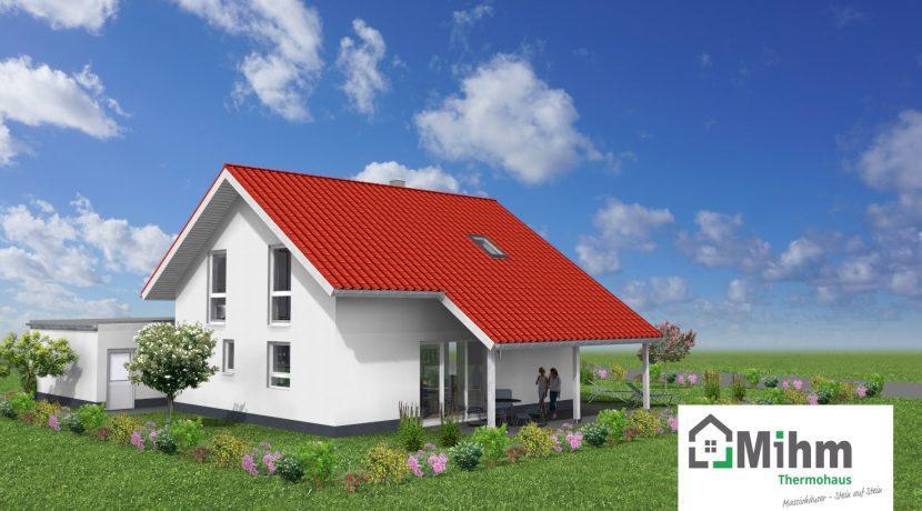 Classico135SD_Bauantrag-Ansichten_3D-Terrasse_Logo