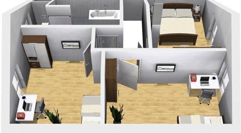 Classico135SD_Bauantrag-Ansichten_DG-Terrasse