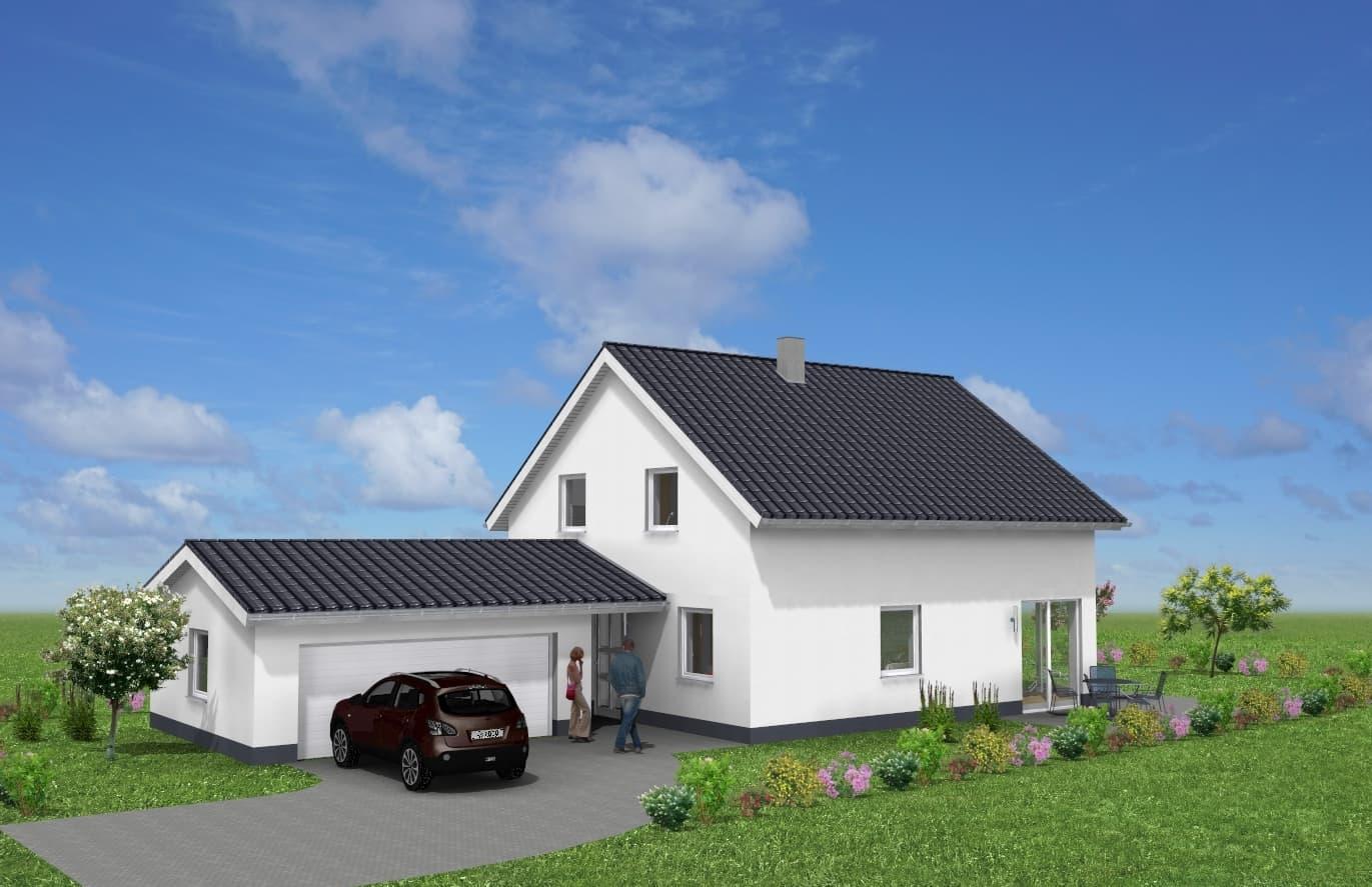 Einfamilienhaus mit Garage in 36404 Vacha OT Martinroda