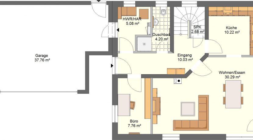 Idealo140SD_Bauantrag_Ansichten-EG-Entwurf