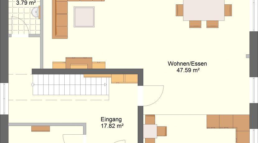 Idealo180_Bauantrag_Ansichten_EG-Entwurf