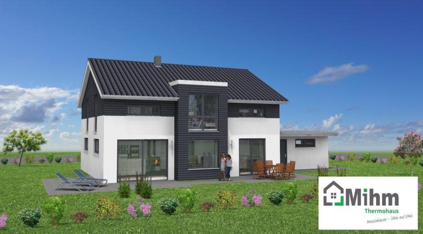 Primero167SD+Ga44_Bauantrag_Ansichten_3D-Terrasse_Logo