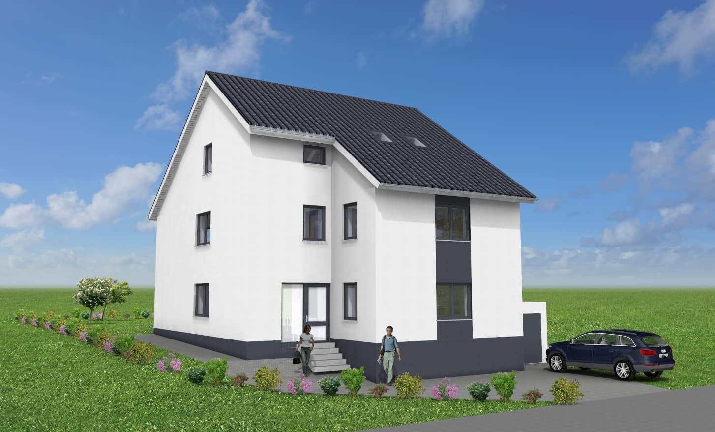 ZFH mit Einliegerwohnung und Garage in 63075 Offenbach