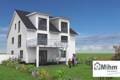Primero326+ELW+BKG108_Bauantrag-Herget_Ansichten_3D-Terrasse_Logo