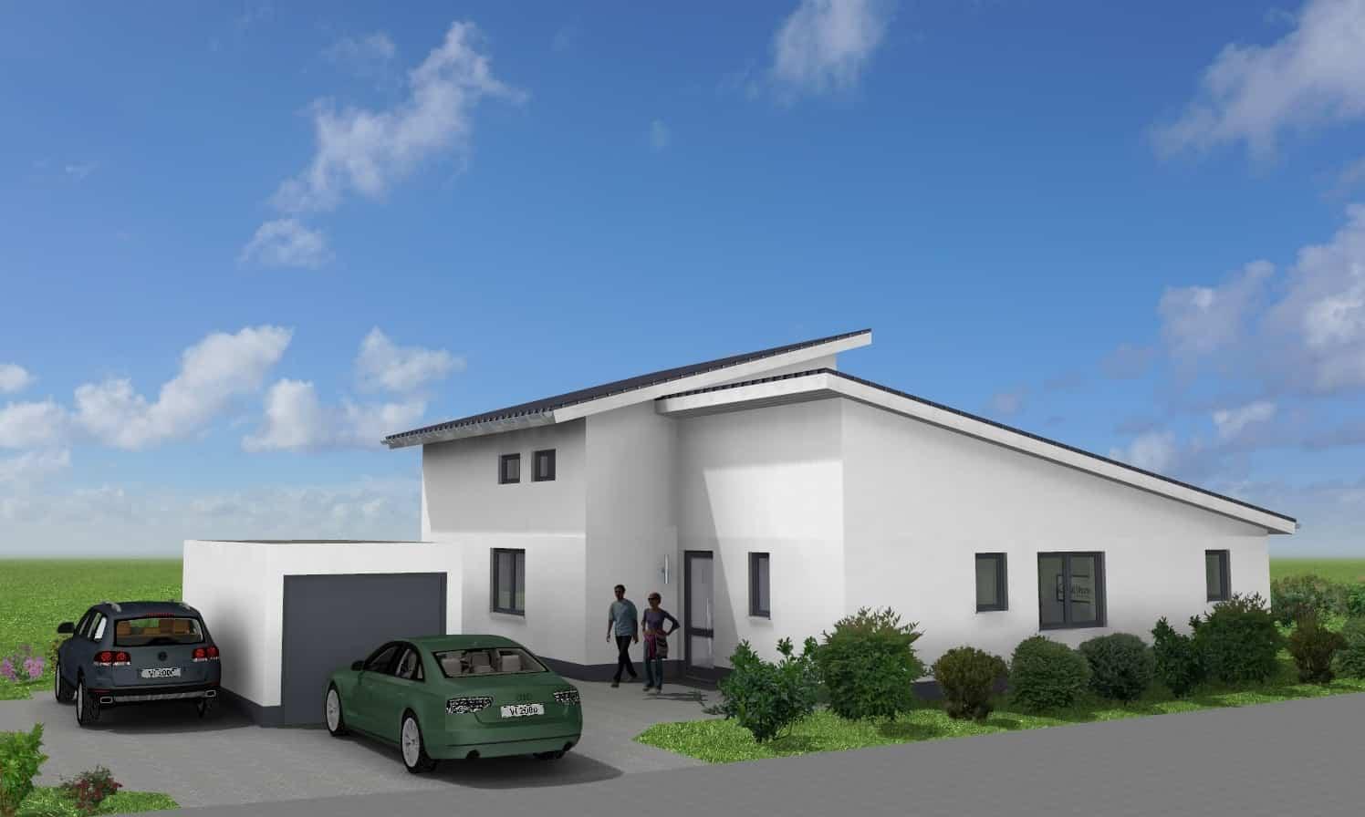 Modernes EFH mit Einliegerwohnung und Garage in 36137 Großenlüder