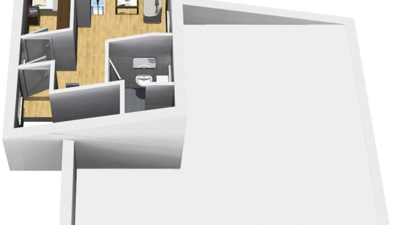 Classico124PDv+ELW34_36.5_Bauantrag_Ansichten_DG-Eingang
