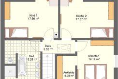 Classico148WD_Bauantrag_Ansichten_OG-Entwurf