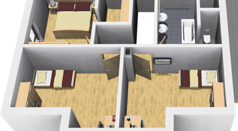 Classico148WD_Bauantrag_Ansichten_OG-Terrasse