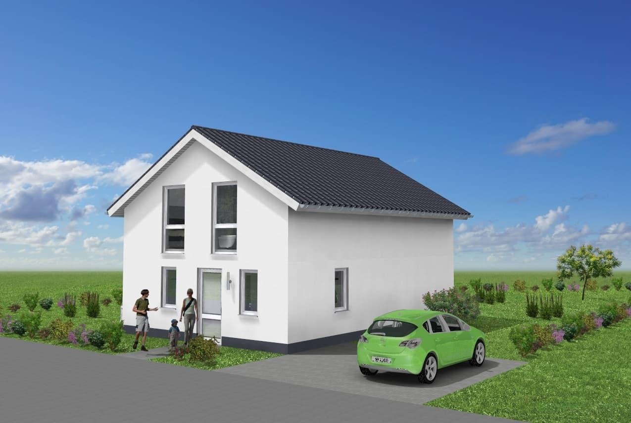Einfamilienhaus mit Satteldach in 35410 Hungen
