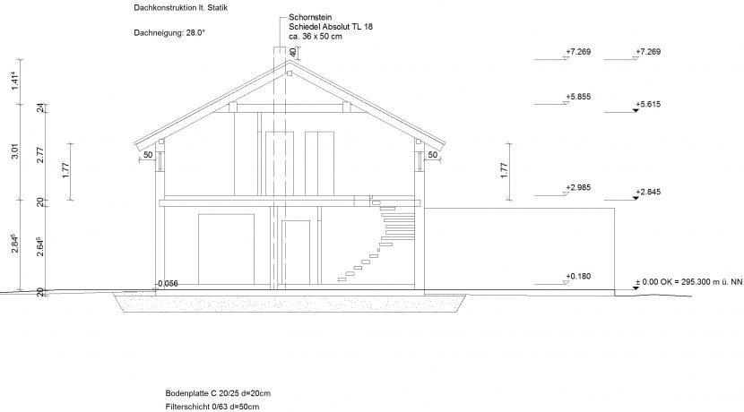 Idealo120SD_Bauantrag_Ansichten_Schnitt-A