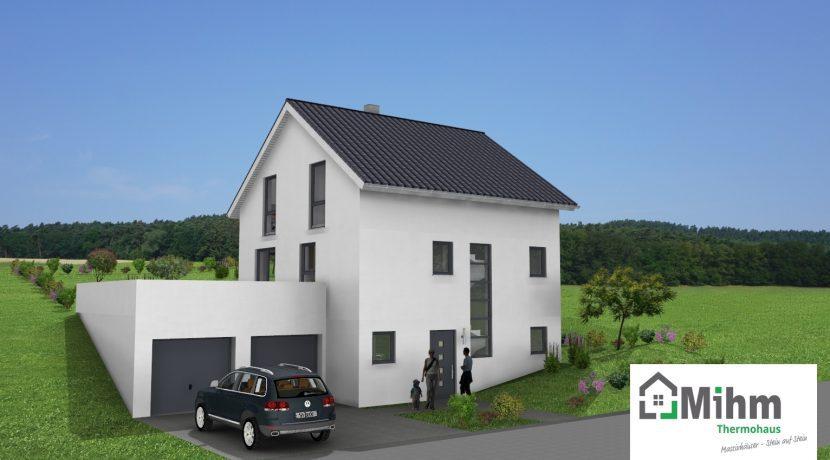 Primero123SD+BKG100+Ba43_Bauantrag_Ansichten_3D-Eingang_Logo
