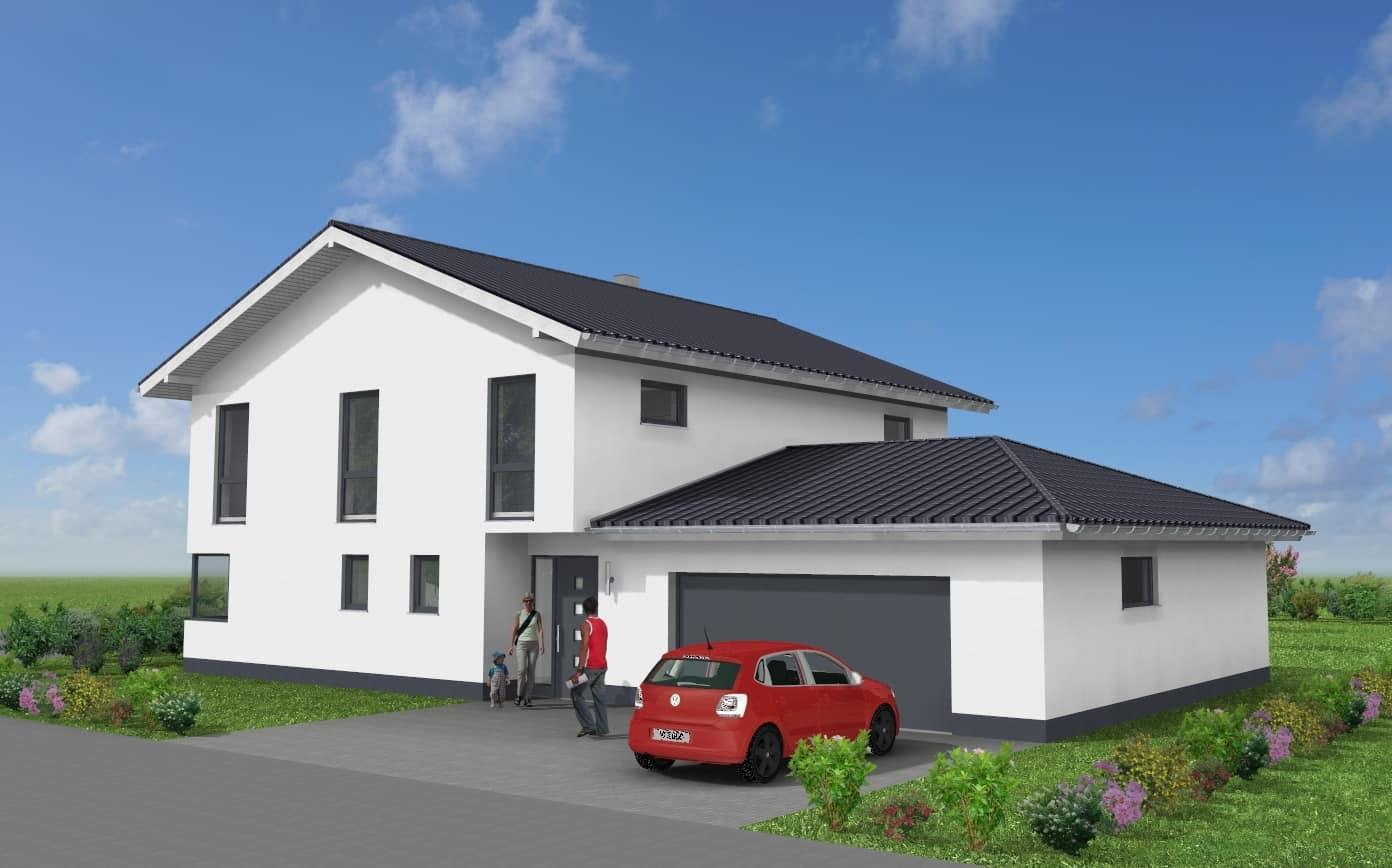 Modernes Einfamilienhaus in 36277 Schenklengsfeld
