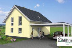 Classico139SD_Bauantrag_Ansichten_3D-Eingang_Logo
