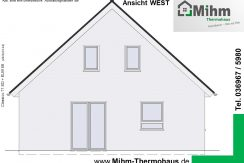 Mihm-Thermohaus_Classico71SD+ELW68_Ansicht-West