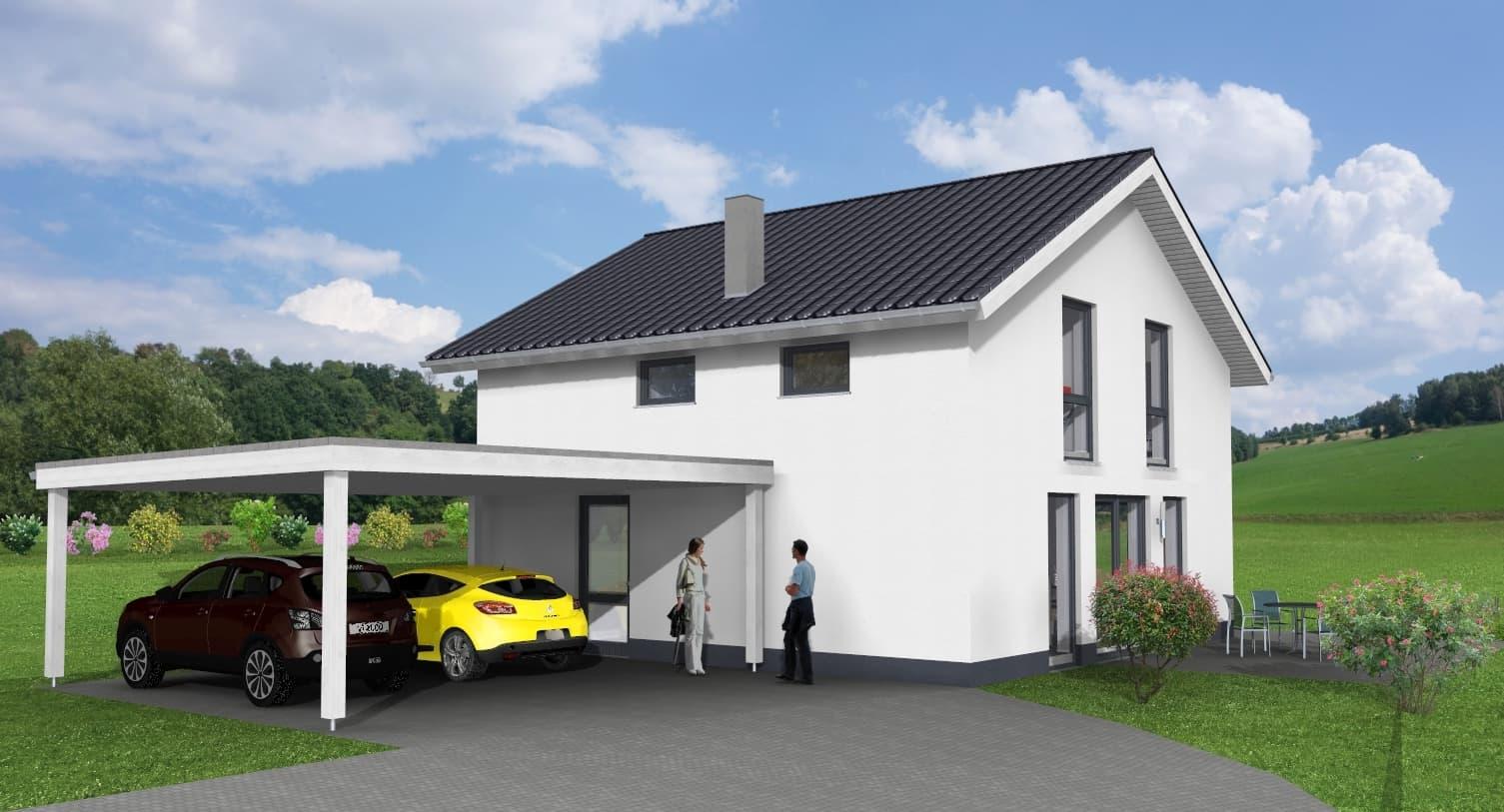 EFH mit Carport in Hanglage in 98590 Schwallungen