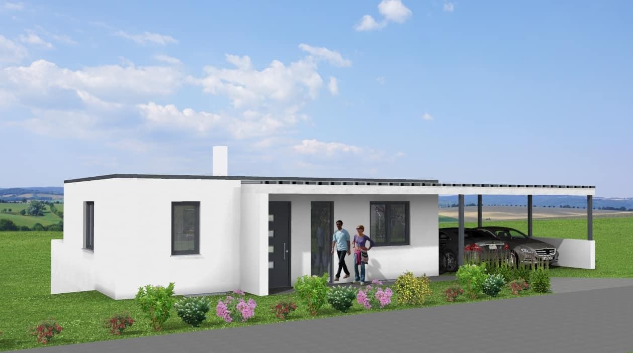 Modernes Einfamilienhaus mit Carport und Keller in 36039 Fulda