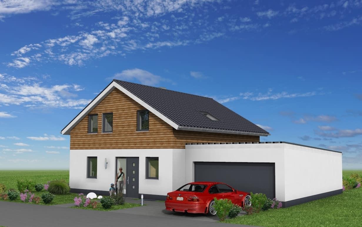 Einfamilienhaus mit Garage in 36039 Fulda OT Dietershan