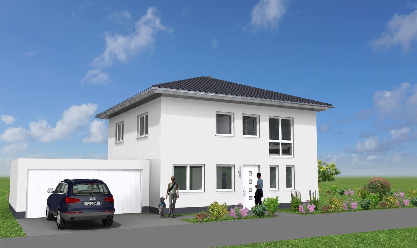 Villa mit Walmdach und Garage in 97892 Kreuzwertheim OT Röttbach