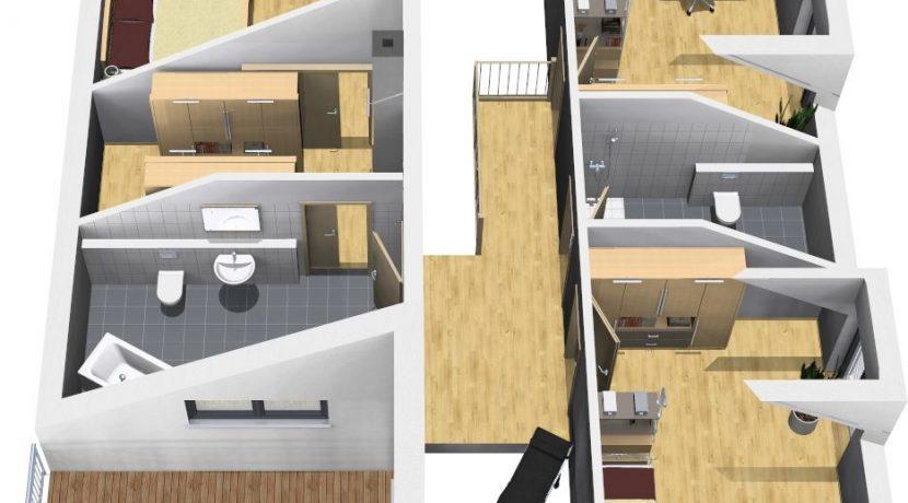 Primero202WD+BKG104_Bauantrag_Ansichten_DG-Terrasse