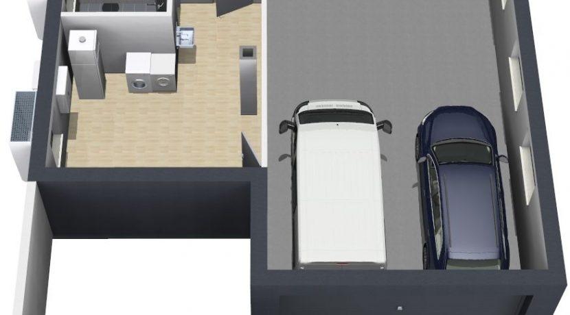 Primero202WD+BKG104_Bauantrag_Ansichten_KG-Terrasse