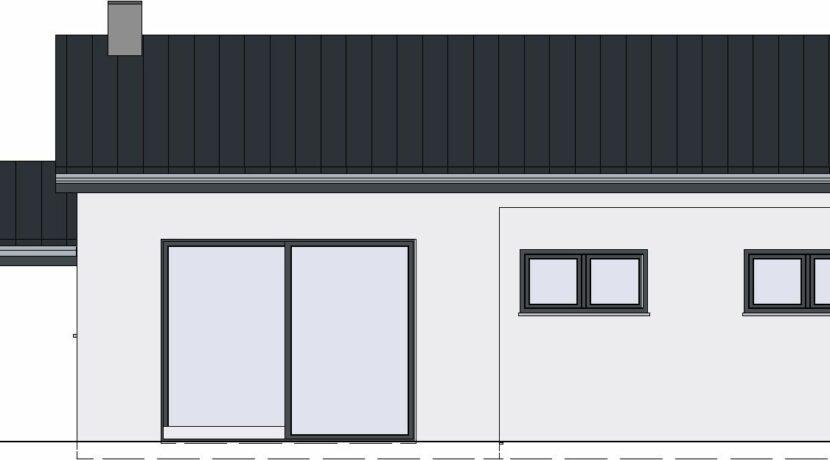 Bungalow122PDv+Carport56PD_Ansicht-Sued