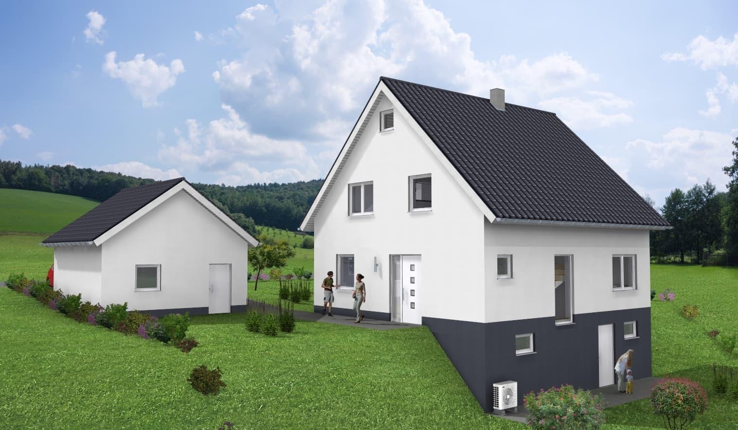 Einfamilienhaus mit Keller in 96337 Ludwigsstadt OT Ottendorf