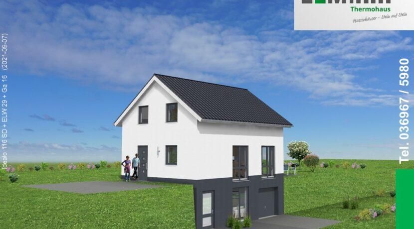 Mihm-Thermohaus_Idealo116SD+ELW29+Ga16_3D-Einfahrt