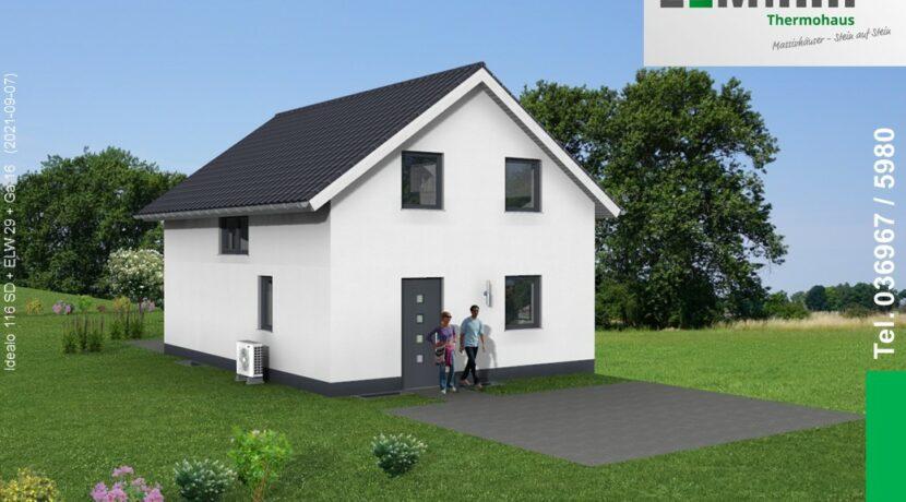 Mihm-Thermohaus_Idealo116SD+ELW29+Ga16_3D-Eingang