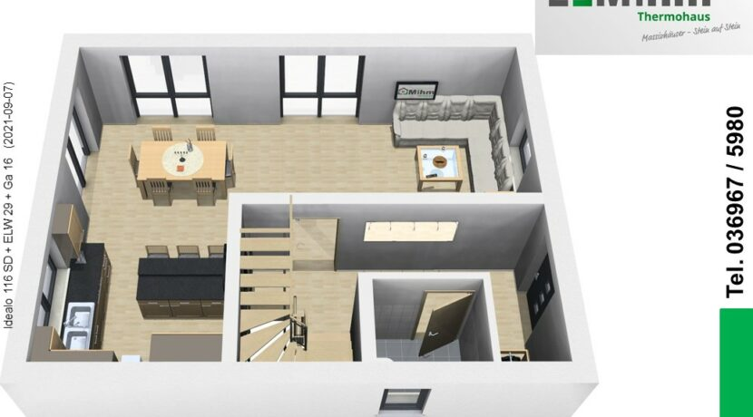 Mihm-Thermohaus_Idealo116SD+ELW29+Ga16_EG-Eingang