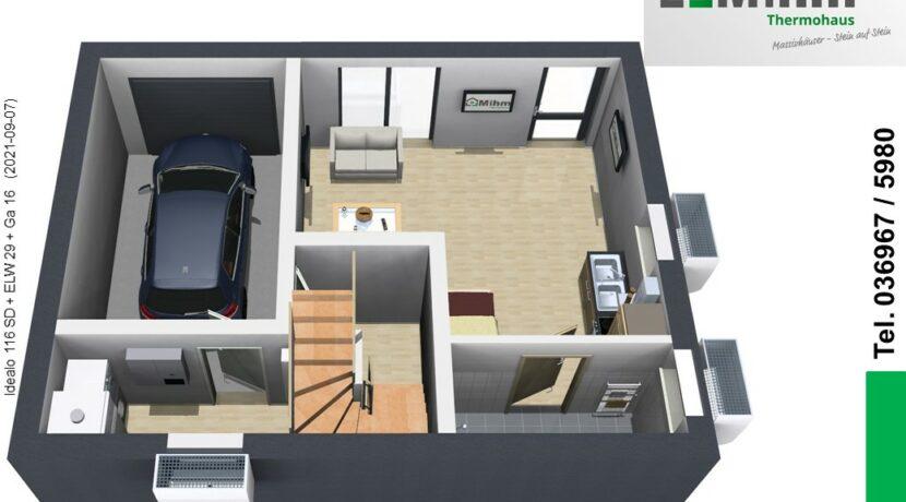 Mihm-Thermohaus_Idealo116SD+ELW29+Ga16_KG-Eingang