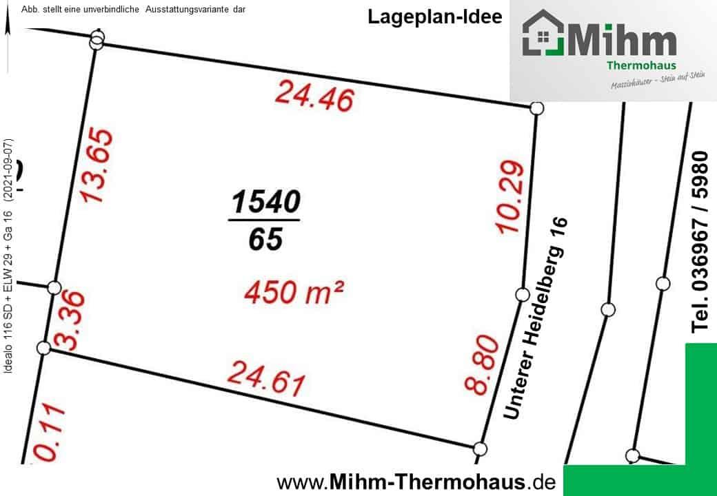 2 Wohneinheiten in 36448 Bad Liebenstein OT Schweina nutzen den Hang perfekt aus